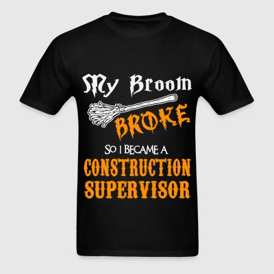 Construction Supervisor - Men's T-Shirt