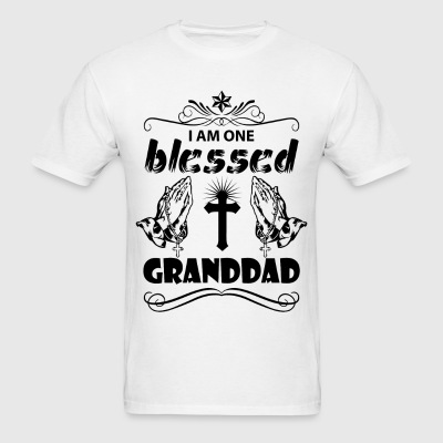 I Am One Blessed Granddad T-Shirts - Men's T-Shirt