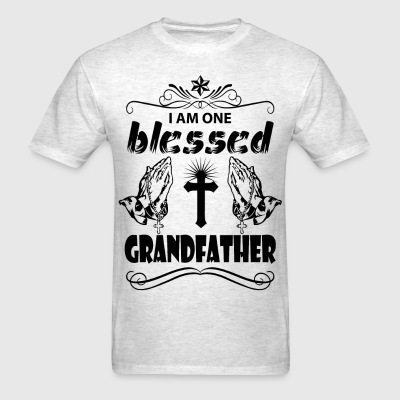 I Am One Blessed Grandfather T-Shirts - Men's T-Shirt