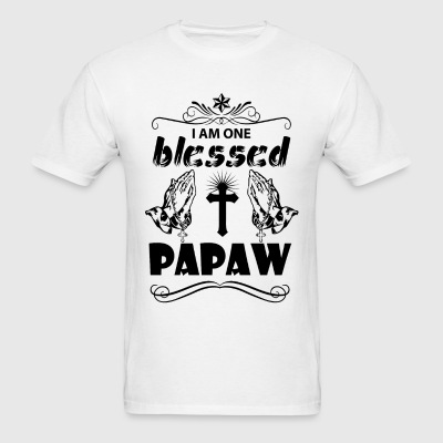 I Am One Blessed Papaw T-Shirts - Men's T-Shirt