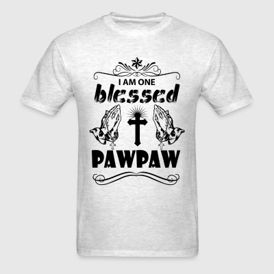 I Am One Blessed Pawpaw T-Shirts - Men's T-Shirt