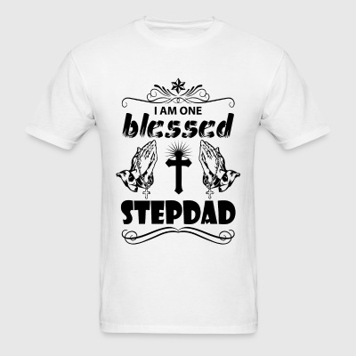 I Am One Blessed Stepdad T-Shirts - Men's T-Shirt