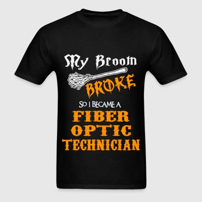 Fiber Optic Technician - Men's T-Shirt