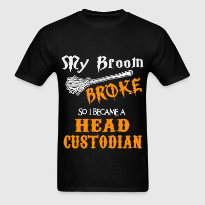 Head Custodian - Men's T-Shirt