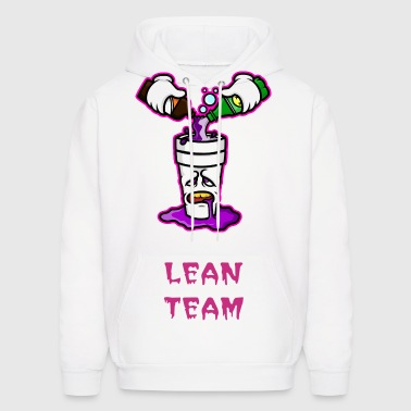 The Deluxe Lean Team Hoodie in White - Men's Hoodie