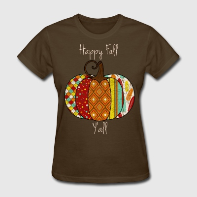 Happy Fall Yall Vintage Tee - Women's T-Shirt