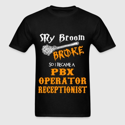 PBX Operator Receptionist - Men's T-Shirt