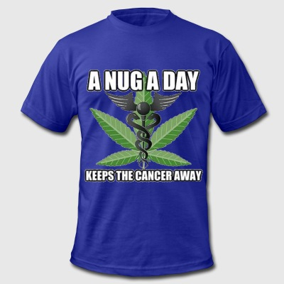 nug a day T-Shirts - Men's T-Shirt by American Apparel