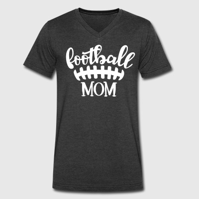 Football Mom - Men's V-Neck T-Shirt by Canvas