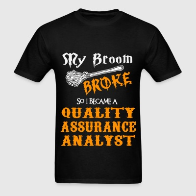 Quality Assurance Analyst - Men's T-Shirt