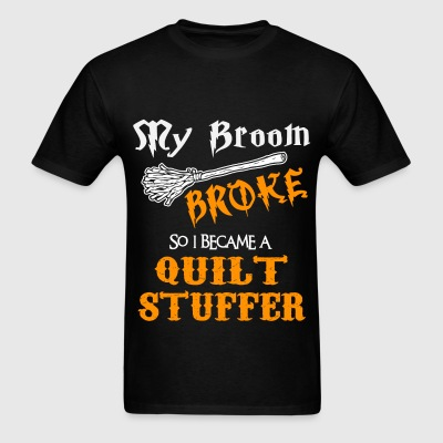 Quilt Stuffer - Men's T-Shirt