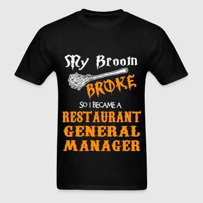 Restaurant General Manager - Men's T-Shirt