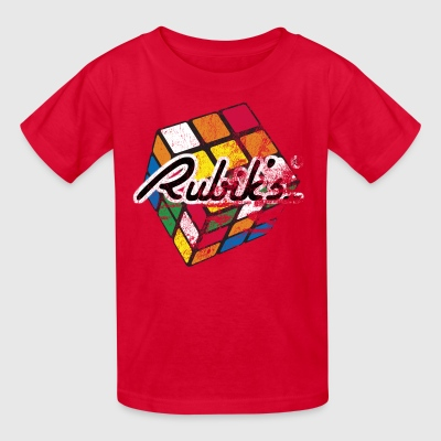 Rubiks Distressed - Kids' T-Shirt