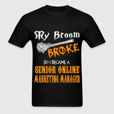Senior Online Marketing Manager - Men's T-Shirt