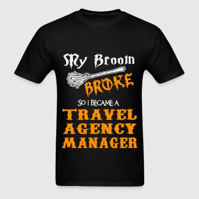 travel agency manager mens t shirt - Agency Manager