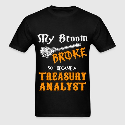 Treasury Analyst - Men's T-Shirt