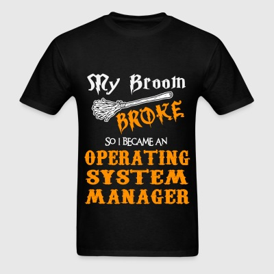 Operating System Manager T-Shirts - Men's T-Shirt