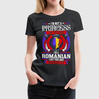 Im Not Princess Romanian T-Shirts - Women's Premium T-Shirt
