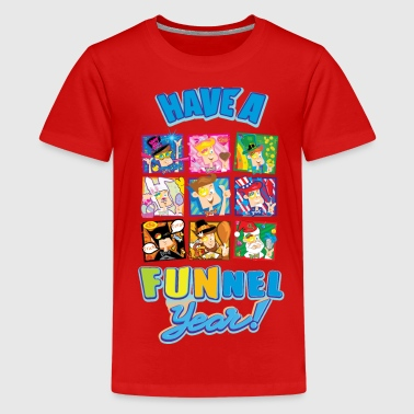 Have a FUNnel Year  - Kids' Premium T-Shirt