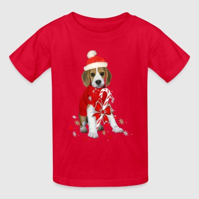 Beagle Santa Claus Kid's T-shirts  - Kids' T-Shirt