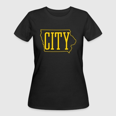 Women's Iowa City TShirt - Women's 50/50 T-Shirt