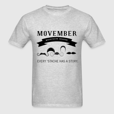 Movember Stache - Men's T-Shirt