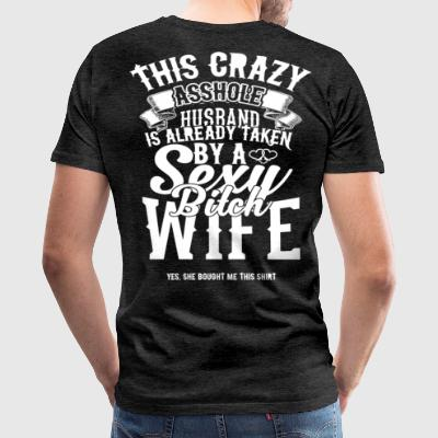 This husband is already taken by a wife - Men's Premium T-Shirt
