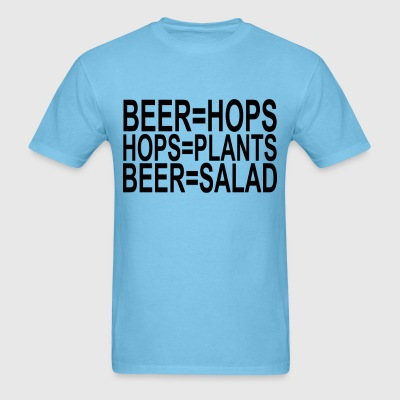 beer_is_salad_ - Men's T-Shirt