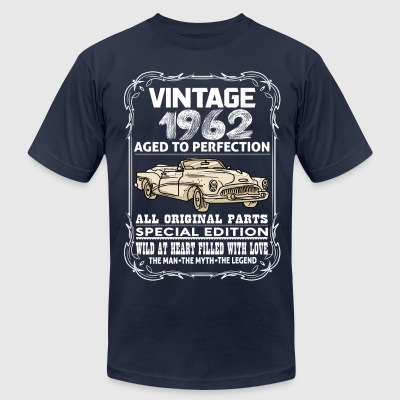 VINTAGE 1962-AGED TO PERFECTION T-Shirts - Men's T-Shirt by American Apparel