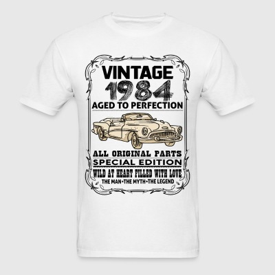 VINTAGE 1984-AGED TO PERFECTION T-Shirts - Men's T-Shirt