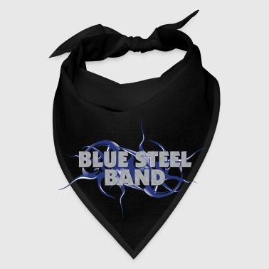 Blue Steel Band Square Bandana - Bandana