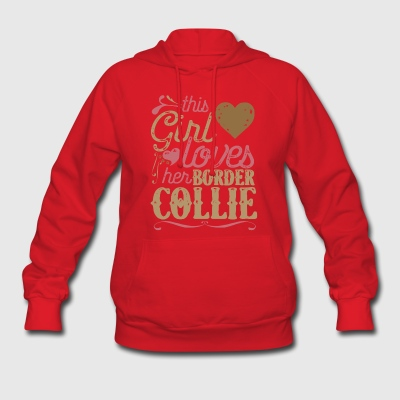 Border Collie Dog Shirt Gift Dogs Hoodies - Women's Hoodie