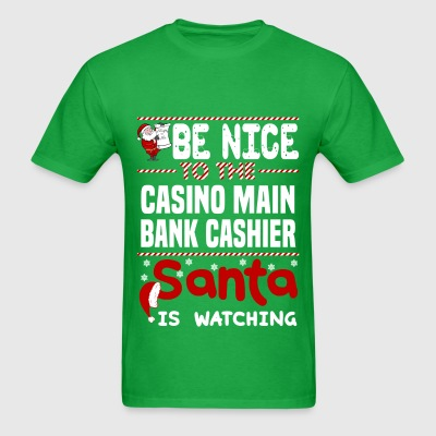 Casino Main Bank Cashier - Men's T-Shirt