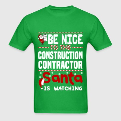 Construction Contractor - Men's T-Shirt