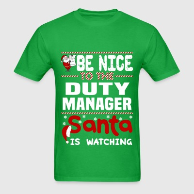 Duty Manager - Men's T-Shirt