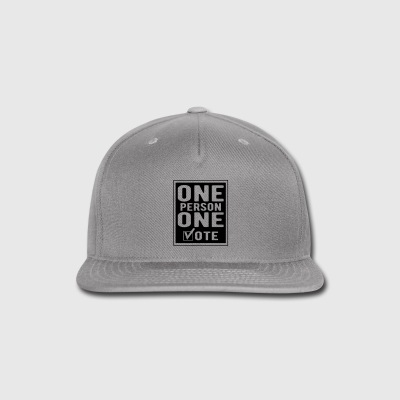 One Person One Vote Sportswear - Snap-back Baseball Cap
