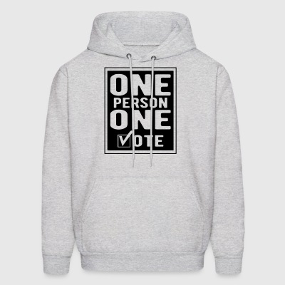 One Person One Vote Hoodies - Men's Hoodie