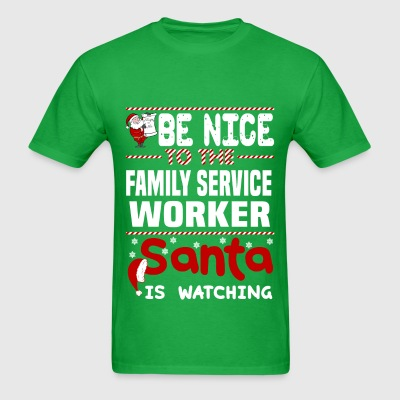 Family Service Worker - Men's T-Shirt