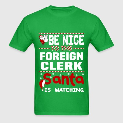 Foreign Clerk - Men's T-Shirt