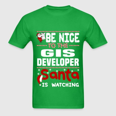 GIS Developer - Men's T-Shirt