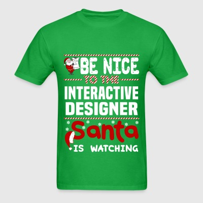 Interactive Designer - Men's T-Shirt