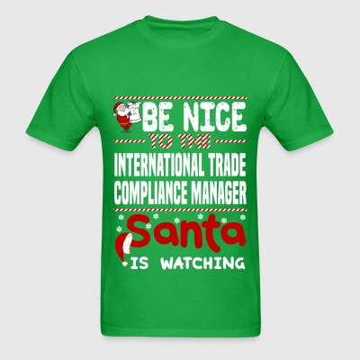 International Trade Compliance Manager - Men's T-Shirt