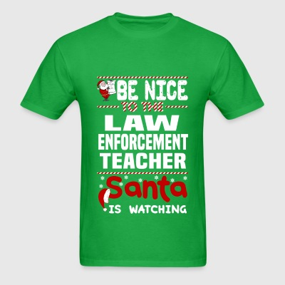 Law Enforcement Teacher - Men's T-Shirt