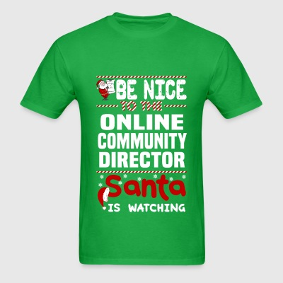 Online Community Director - Men's T-Shirt