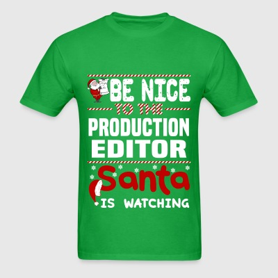 Production Editor - Men's T-Shirt