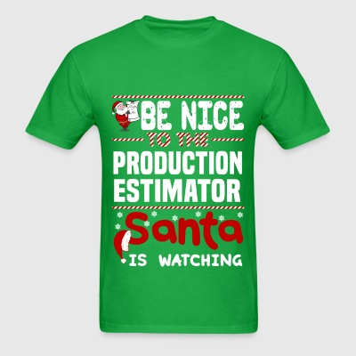 Production Estimator - Men's T-Shirt
