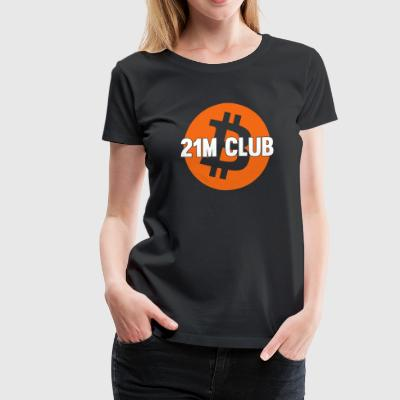 21M Club Large Logo - Women's Premium T-Shirt