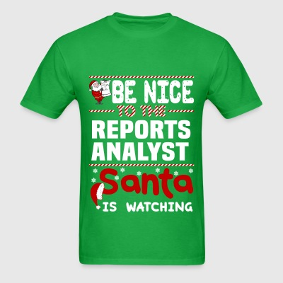 Reports Analyst - Men's T-Shirt