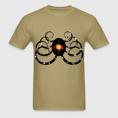 Futuristic Octopus - Men's T-Shirt