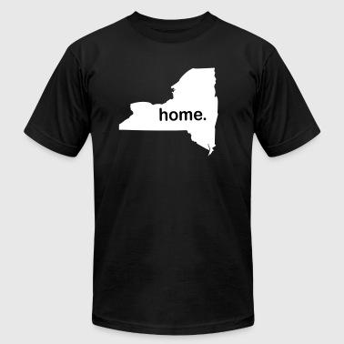 New York Home - Men's T-Shirt by American Apparel